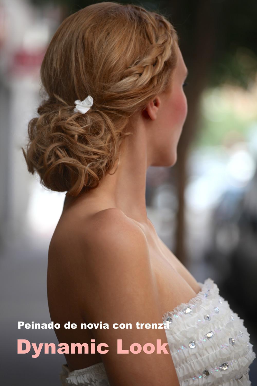 peinado de boda con trenza en dynamic look javier ruiz